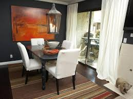 decor transitional dining room using luxury chairs and round