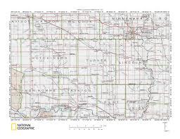 Sioux Falls Map James River Big Sioux River Drainage Divide Area Landform Origins