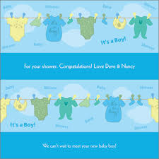 baby boy wrapping paper clothes line boy personalized wrapping paper pricing options