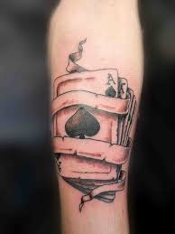 artistic spade tattoo design of tattoosdesign of tattoos