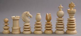 lund ivory chess set 3 4