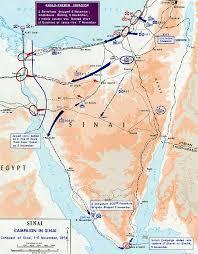 map arab of the second arab israeli war 1956