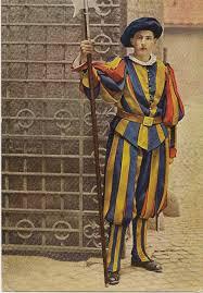 uibles a family 1954 vatican guard monreale cards sent