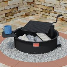 Fire Pit Ring With Grill by Campfire Rings Series Pilot Rock
