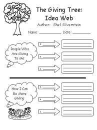 collection of solutions the giving tree worksheets about cover