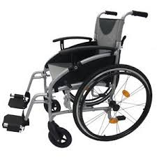 z tec lightweight folding aluminium self propelled wheelchair seat