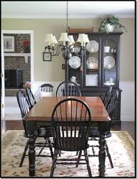 Painted Kitchen Table Ideas by Best 25 Black Dining Room Table Ideas On Pinterest Dining Room
