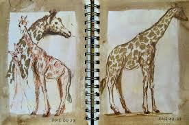 hudson valley sketches bronx zoo trip