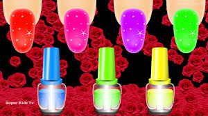 colors for children with glitter nail polish colours nail arts