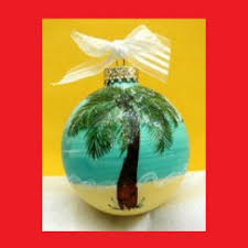 caribbean ornaments hand painted christmas ornaments st thomas