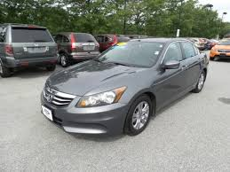 used 2012 honda accord 2 4 se for sale bennington vt vin