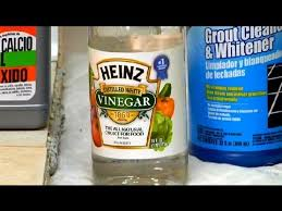 Cleaning Grout With Vinegar Home Remedy For Cleaning Tile U0026 Grout Grout Maintenance Youtube