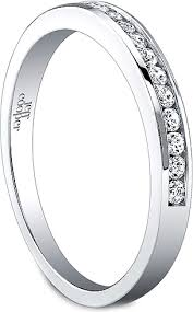 channel set wedding band jeff cooper channel set diamond wedding band 3266b