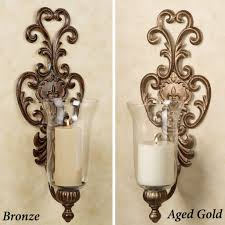 Wall Candle Sconces With Glass Silver Candle Wall Sconces Photo Album Jefney Hurricane Lamp Glass