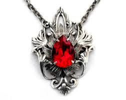 red gothic necklace images Victorian cameo brooch pendant vintage style silver brooch jpg