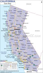 California Zip Code Map by California Map Cities California Map