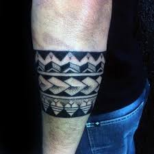 armband tattoo cool tribal armband tattoo for men