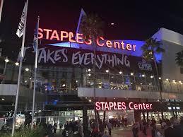 nba arena tour the staples center review