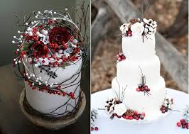 winter wedding cakes rustic winter wedding cakes cake magazine