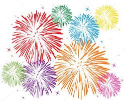 fuochi d artificio clipart vettoriali colorati fuochi d artificio vettoriali stock