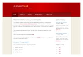 coloured templates free html5 website templates download simple responsive website