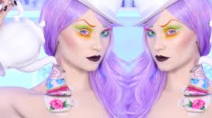 Halloween Mad Hatter Makeup by Female Mad Hatter Makeup Tutorial Youtube
