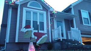 the grinch stole my lights decoration