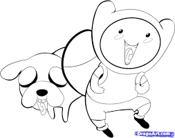 how draw chibi finn and jake step bebo pandco