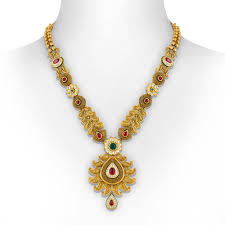 necklace trendy images Gold necklace trendy paisley drop kundan necklace set jpg