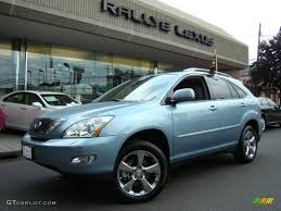 lexus rx blue 2007 breakwater blue metallic lexus rx 350 awd 32808290