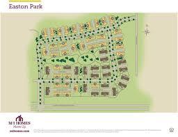 Easton Town Center Map Easton Park Plans Prices Availability