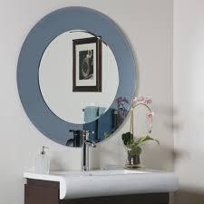 Designer Bathroom Mirrors Decor Wonderland Camilla Round Modern Bathroom Mirror Beyond Stores