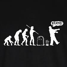 theory of evolution zombie google search design color me