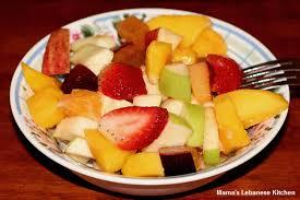 fruit fresh simple fruit salad recipe lebanese style s lebanese
