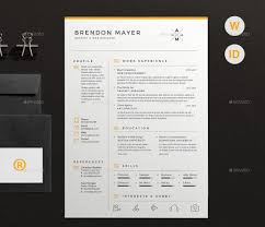 clean resume template best resume templates and cvs to use to get your new dream job in clean and simple resume cv by dejmus