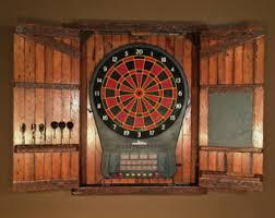 Dart Board Cabinet Plans Dartboard Cabinet Etsy