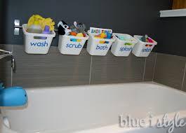 stylish bath toy storage hometalk