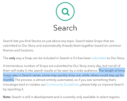 how stories search makes snapchat a real time youtube techcrunch
