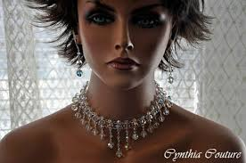 crystal choker necklace wedding images Swarovski crystal choker necklace necklace wallpaper jpg