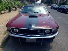 1969 Black Mustang 1969 Ford Mustang Grande Royal Maroon Black For Sale Ford