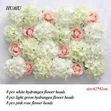 wedding flowers background aliexpress buy artificial flower wall 62 42cm hydrangea