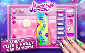 nail salon u0026 toenail magic spa android apps on google play