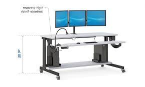 bi level computer workstation desk afcindustries intended for