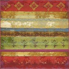 Outdoor Rug Square Multi Colored Square 1 6 Outdoor Rugs Rugs The Home Depot