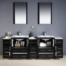 84 Bathroom Vanity Adorna 84 Inch Double Sink Bathroom Vanity Set Intended For