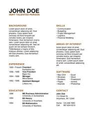 Free Resume Templates For Pages Iwork Resume Template Pages Resume Templates Free Iwork Templates