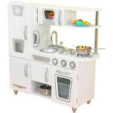 kidkraft vintage wooden play kitchen white