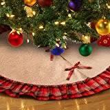 burlap christmas tree skirt best sellers best christmas tree skirts