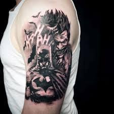 dark knight joker tattoo designs best 25 batman tattoo sleeve