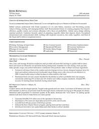 exle of an excellent resume sous chef resume pdf objective junior cv exle exles template